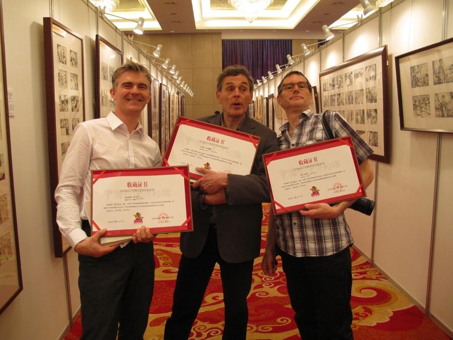 BDCHINE_certificats des oeuvres des 3 artistes
