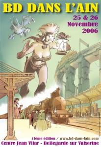 affiche bd web 2006